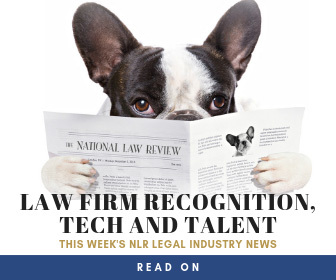 National Law Review Legal Industry News