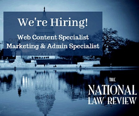 National Law Review is hiring