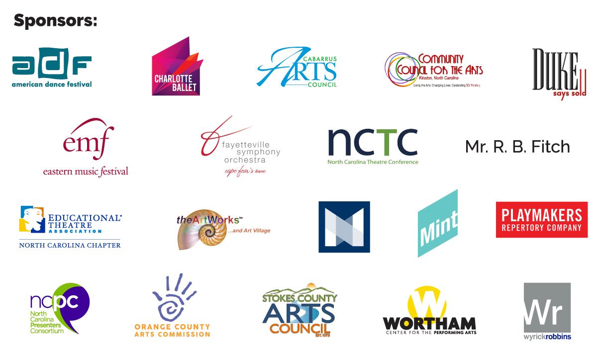 Arts NC Sponsors