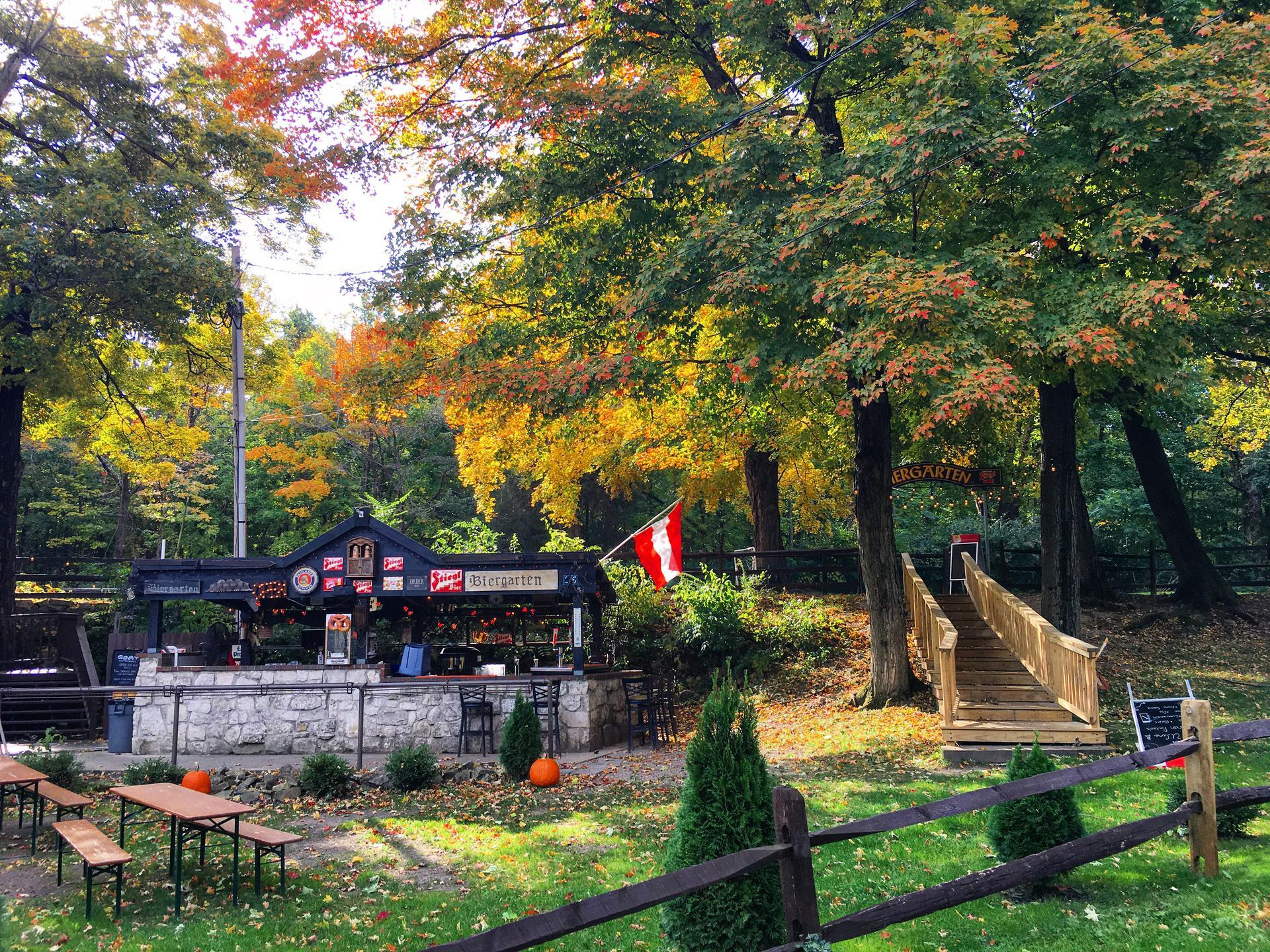 Fall Colors at The Goat, Put-in-Bay