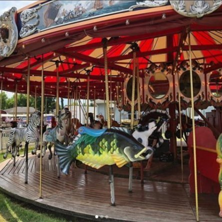 Carousel at Put-in-Bay