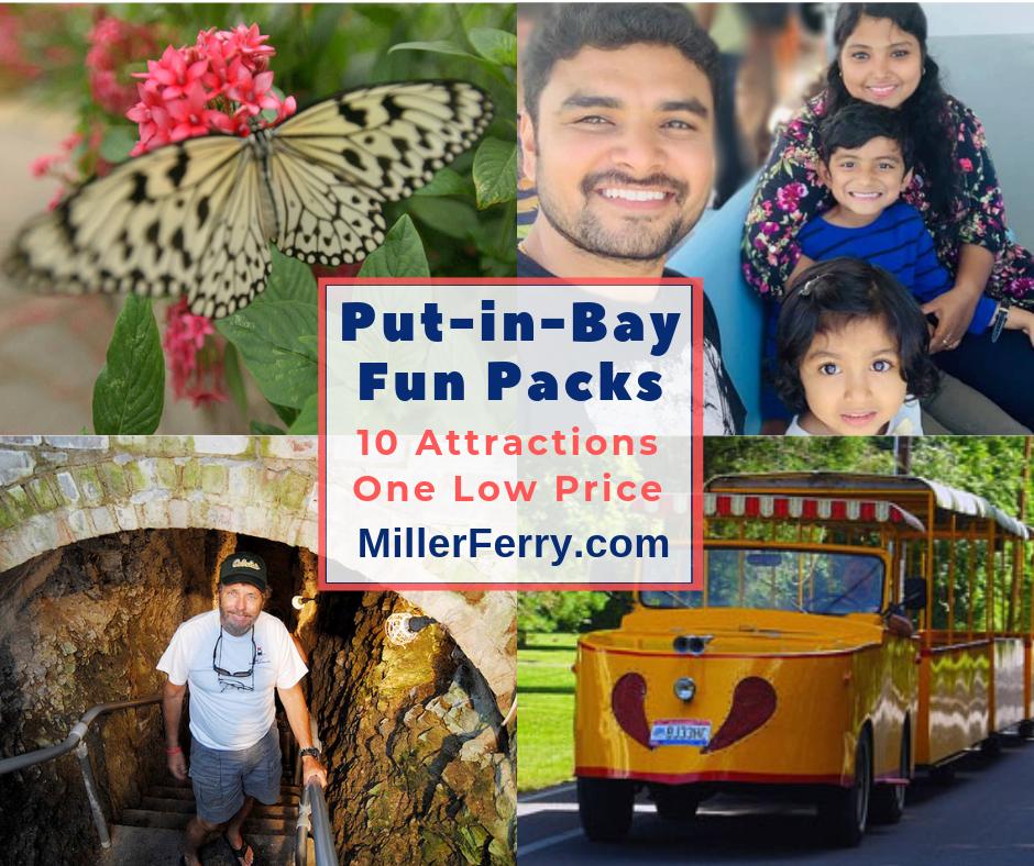 Put-in-Bay Family Fun Packs