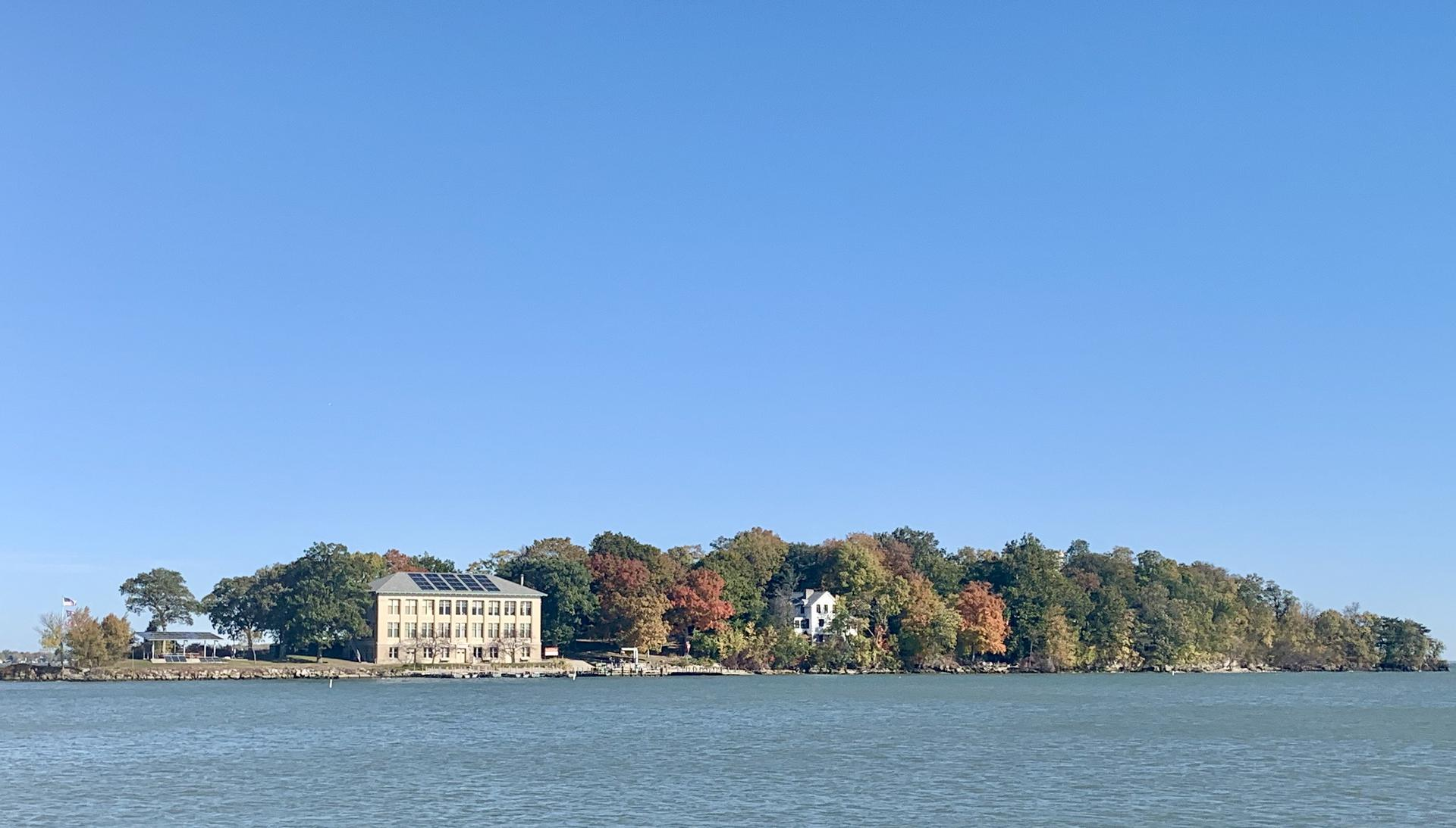 Gibraltar Island Fall Colors