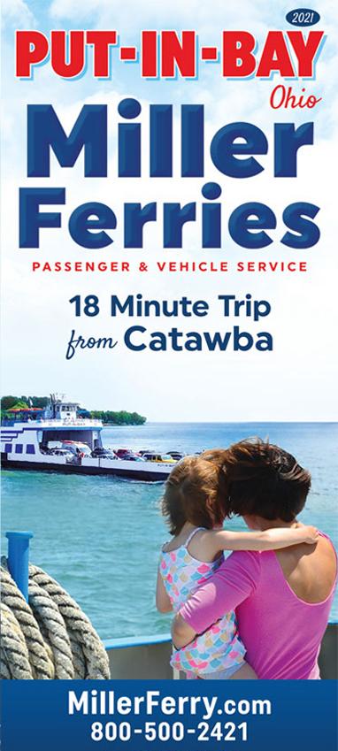 2021 Put-in-Bay Miller Ferry Schedule