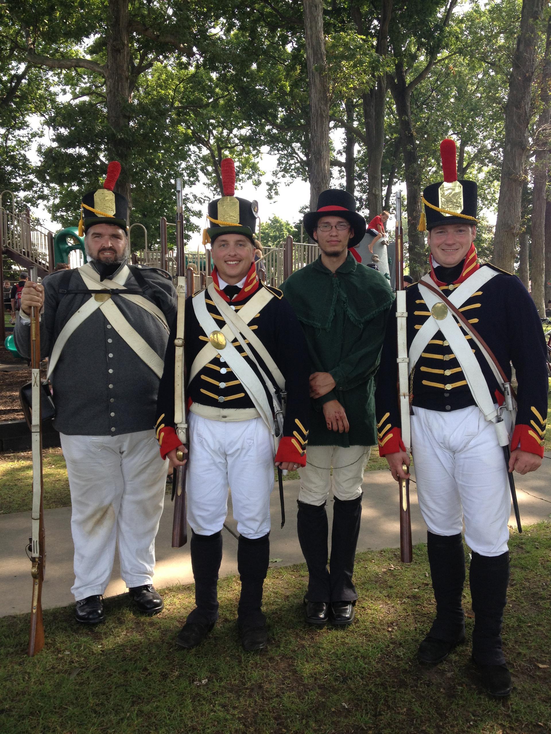 Historic Weekend Reenactors