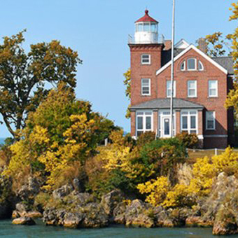 Lake Erie Shores and Islands, Fall on the Islands